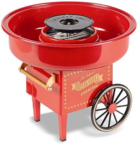 United Entertainment Cotton Candy Maker/macchina per zucchero filato/macchina per zucchero filato–in plastica–rosso–ø 30x 25cm