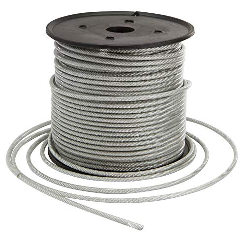 Houseables Vinyl Coated Wire Rope Aircraft Cable