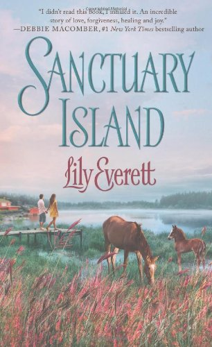 book cover of Sanctuary Island