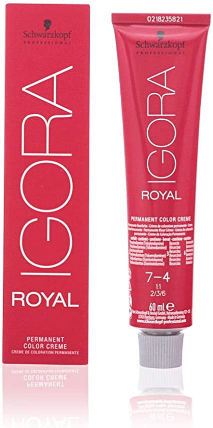Schwarzkopf Professional Igora Royal 7-4 Tinte - 60 ml