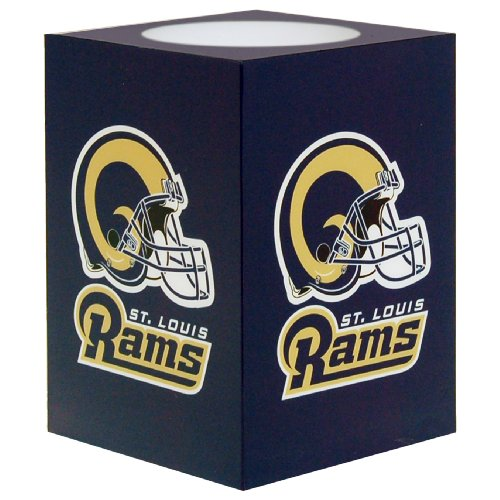 The Northwest Company Officially Licensed NFL St. Louis Rams Square Flameless Candle