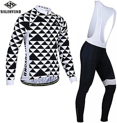 DDDD store Maillot de Ciclismo Hombre Mangas Largas Ropa para ...
