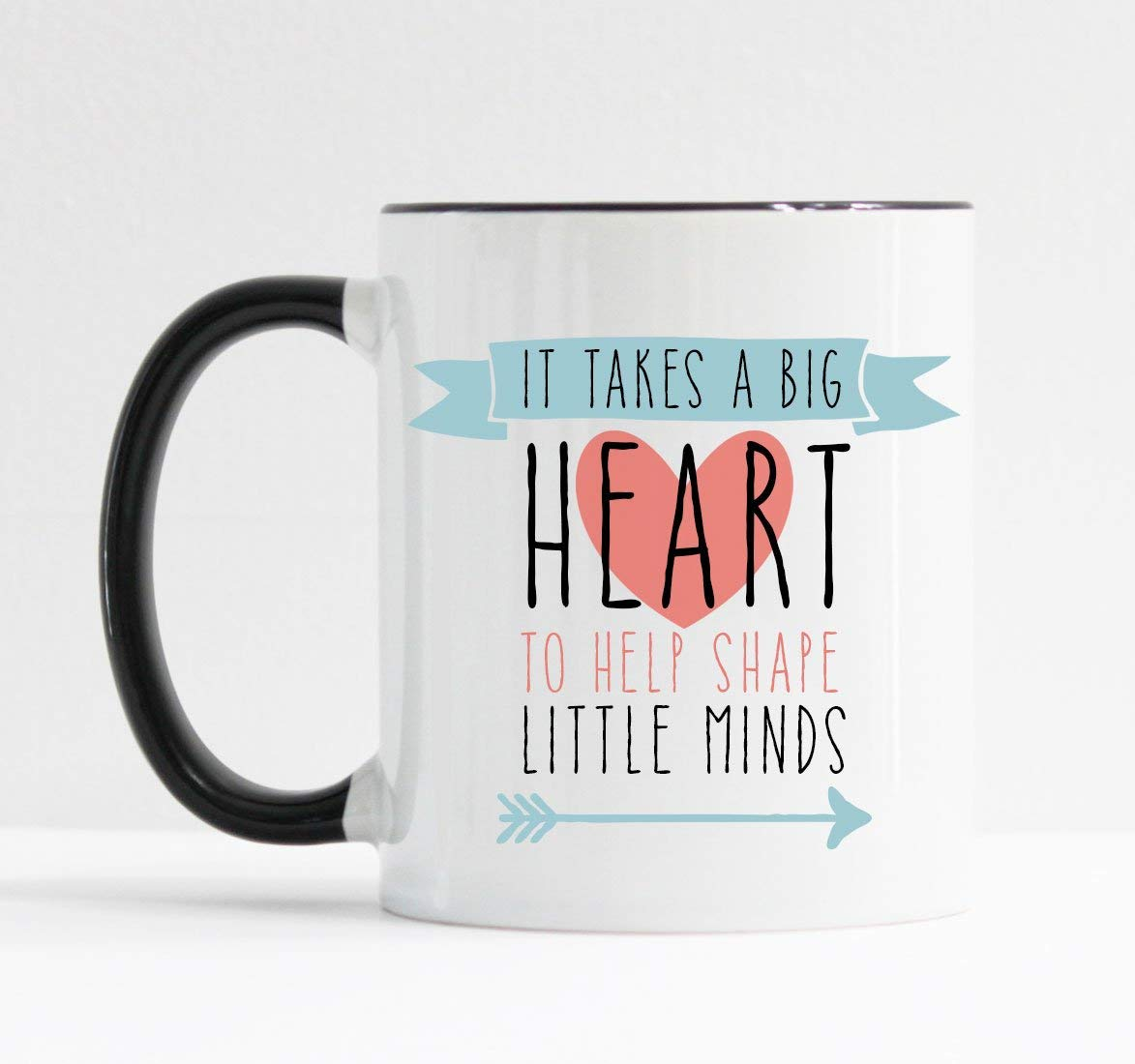 photograph regarding It Takes a Big Heart to Shape Little Minds Printable called It Can take a Massive Center towards Condition Minimal Minds Mug Instructor Reward