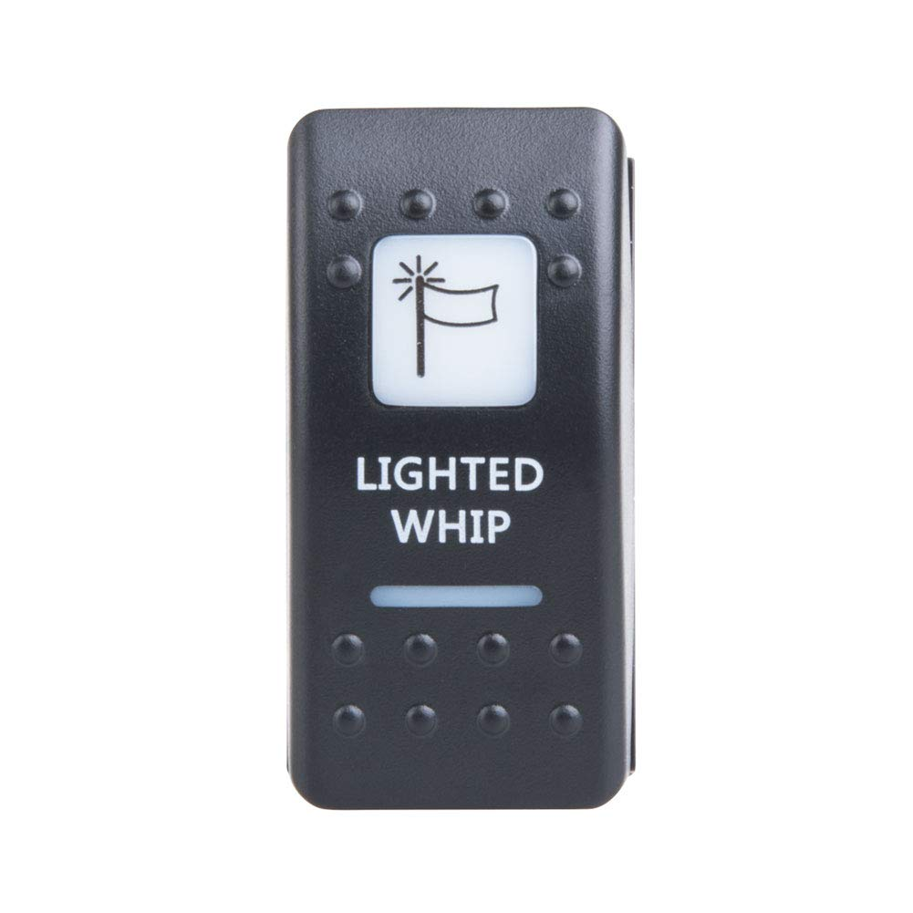 TUSK Accessory Rocker Switch Lighted Whip