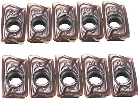 HYY-YY 10Pcs CNC Klinge Schneidplatten-Fräser A0MT123608PEER-M VP15TF Einsätze Boring