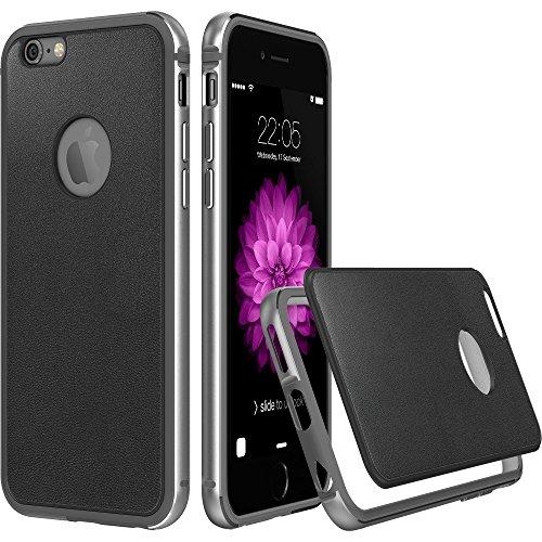 iPhone ESR Aluminum Leather Fluencia