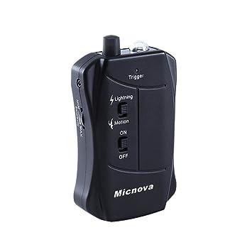 Micnova LC03N Sensor de disparo de Movimiento y Rayo para Nikon D3s D3X D4 D750 D800