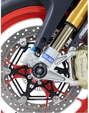 RSV4 RF 15-17 /& RSV4 RR 15-17 R/&G Front Axle Sliders Fork Protectors For Aprilia Tuono 1100 15-17