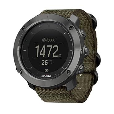 Suunto Traverse GPS Slate Quartz Watch SS022293000