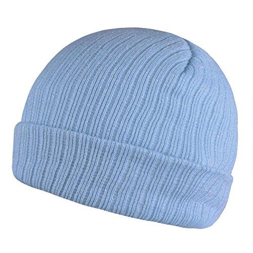 Light Blue Knit Hat - Timol Unisex Beanie Knit Winter Soft Warm Hats For Women and Men Beanies Skull Caps (Sky-Blue)