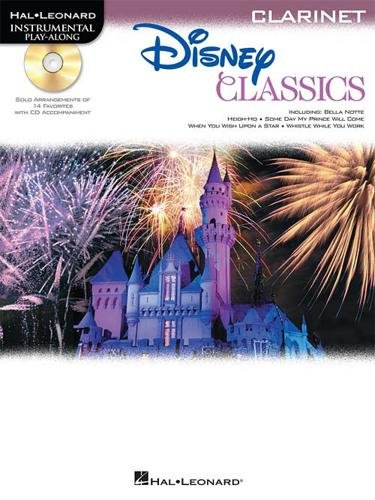 Hal Leonard Disney Classics Instrumental Play Along (Book/CD) Clarinet (Disney Solos For Clarinet)