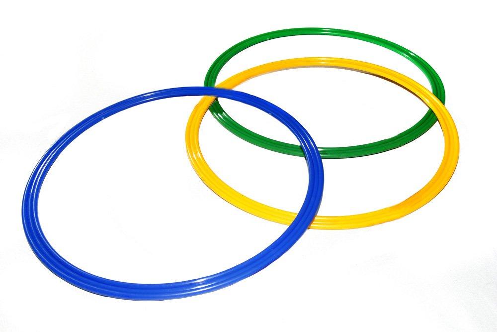 Set di 3 cerchi/anelli Ø 60 cm, 3 colori