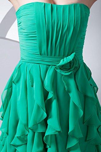 Bridal_Mall - Robe - Sans Manche - Femme -  Bleu - 36