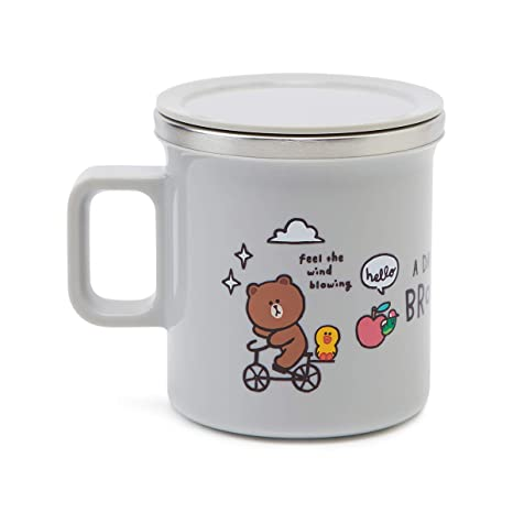 Amazon.com: LINE FRIENDS taza de agua – diseño de caracteres ...