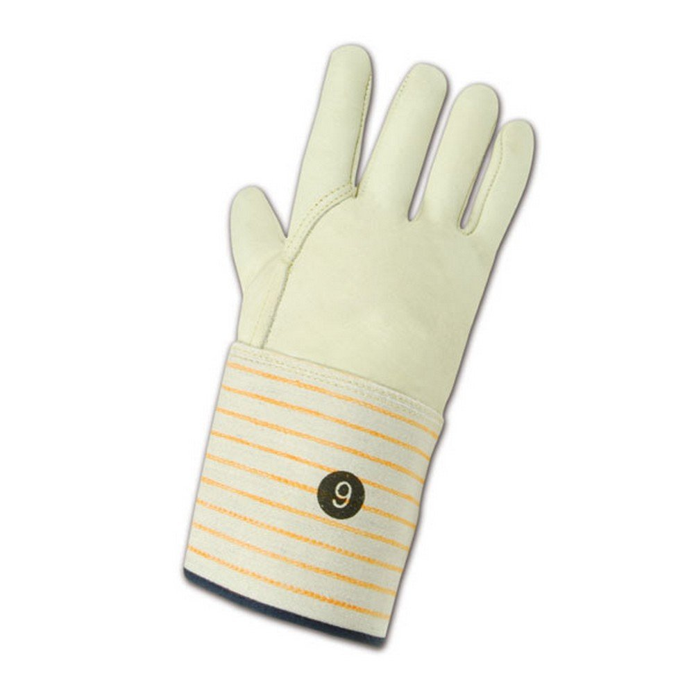 Magid Glove & Safety T6572G-11 Magid DuraMaster T6572G Lined Standard Cow Grain Full Leather, 9, Tan, 11 (Pack of 12)
