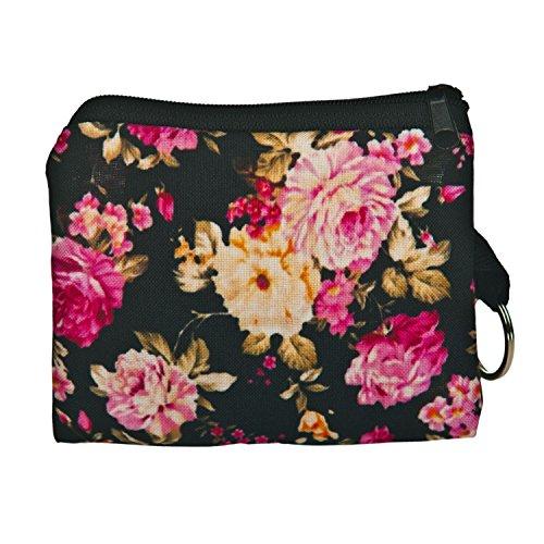 Kukubird Sac Pochette Maquillage Flower Émoticône Licorne Carré Portefeuille Organisateur Toilette Cosmétique Chats Sac Chiens Pencilcase 1Or1Fqxw