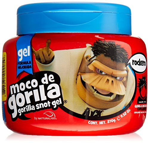 Moco De Gorilla Rockero Mega Gel, Quizz, 9.52 Ounce (Osis Rock Hard)