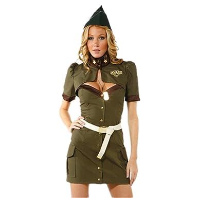 Amazon.com: duolaimeng disfraz de Halloween soldado del ...