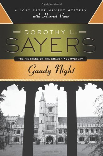 Book cover for Gaudy Night