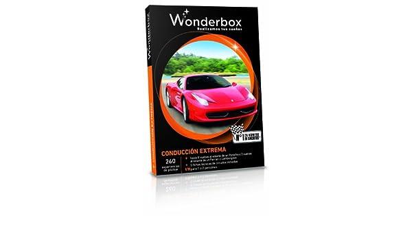 WONDERBOX - Cofre Regalo - Conducción extrema: Amazon.es: Deportes y aire libre