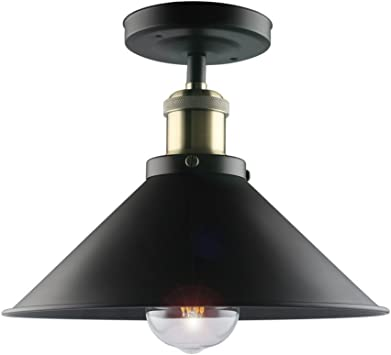 Vintage Style Industrial Iron Retro Ceiling Pendant Lamp Shades Decoration