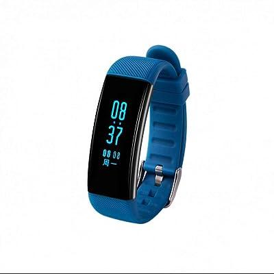 Fitness Tracker Podomètre Bracelet d'Activité avec Traqueur d'Activité, Podomètre, Compteur de Pas, Compteur de Calories Bracelet Intelligent pour Smartphone Android Connectivité Bluet