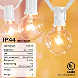 Outdoor String Light-25Feet G40 Globe Patio Lights