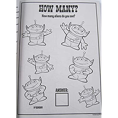 Toy Story 4 Gigantic 224 Page Coloring Book - 7.75 x 10.75 Inches: Toys & Games