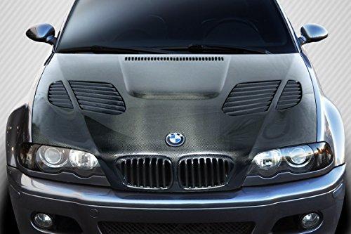 Carbon 2dr - Carbon Creations Replacement for 2001-2006 BMW M3 E46 2DR DriTech GTR Hood - 1 Piece