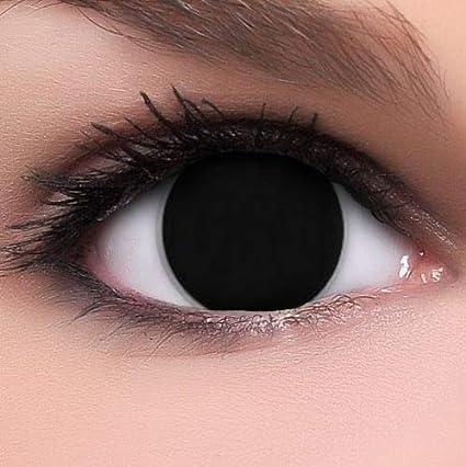 Phantasy Eyes ®Lentilles de Contact de couleur - Halloween Crazy Lens (BLIND  BLACK) 3765c1df1b99