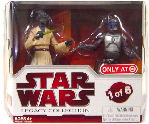 Star Wars Legacy Collection Geonosis Arena Showdown - Jango Fett and Coleman Trebor