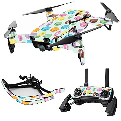 MightySkins Skin for DJI Max Coverage - Macarons | Protective, Durable, and Unique Vinyl Decal wrap Cover | Easy to Apply, Remove, and Change Styles | Made in The USA