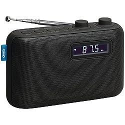 Jensen SR50 Portable AM/FM Digital Radio & Alarm Clock