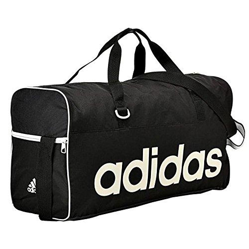 Adidas Men's Lin Per TB Bag - Black/White, Medium