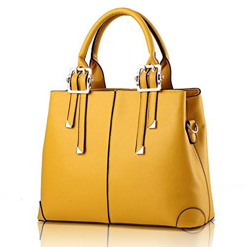 fanhappygo - Bolsa Mujer amarillo
