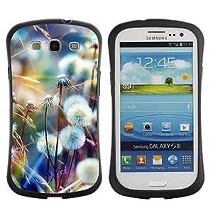 Suave TPU GEL Carcasa Funda Silicona Blando Estuche Caso de protección (para) Samsung Galaxy S3 I9300 / CECELL Phone case / / Spring Summer Nature /
