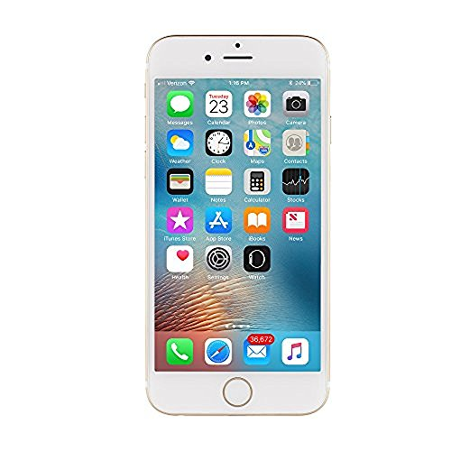 Apple iPhone 6 64GB Fully Unlocked Phone - Gold (Renewed) (Best Phones Under 200 Canada)