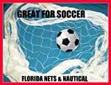 ball containment net - Fishing Net, Soccer, Basketball, Disc Golf Safety Netting. Choose Your Size (6' x 25')