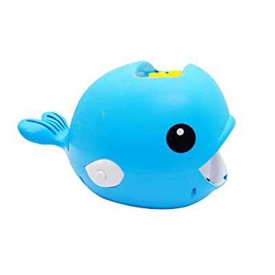Gbell Automatic Bubble Blower for Kids,Cartoon Whale Bubble Machine Easy to Use for Kids ,Blower Bubble Maker 2000+ Per Minute for Kids Toy, Great Birthday Activity and Party Favor (Blue): Toys & Games