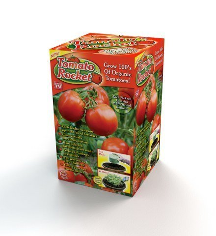 Roll Out Flowers Tomato Rocket Seed
