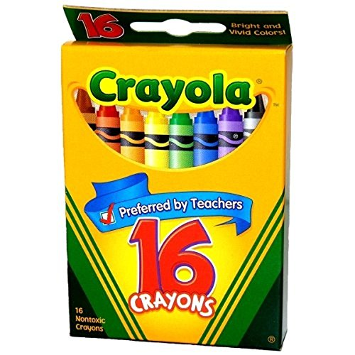 Crayola Classic Color Pack Crayons 16 ea ( Pack of 12) by Crayola