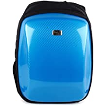 Stylish 15 Inch Laptop Backpack with Hard Shell Front Pocket, Anti-Theft Water Resistant Nylon Computer Bag Lightweight School College Bag Daypack Rucksack Fits 15 inch Notebook Laptop Tablet