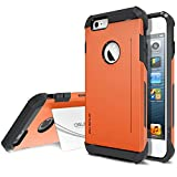 Best Obliq Iphone 6 Case For Protections - iPhone 6 Plus Case, Obliq [SkyLine Pro][Orange] Heavy Review