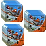 Disney Planes Party Lunch/Dinner Plates - 24 Guests by Hallmark