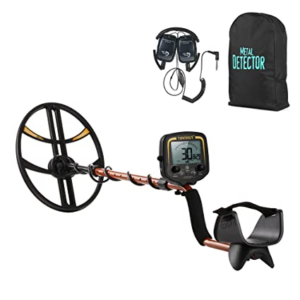 Metal Detector, TIANXUN High Sensitivity Underground Metal Detector Gold Digger Hunter High Performance LCD Display