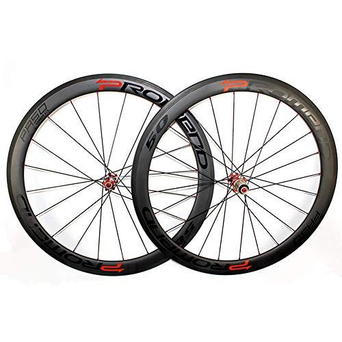 Sviper-sport Bike Wheel Clincher Road Carbon Wheelset 3K Twill Matte Bicycle Carbon Wheels ()