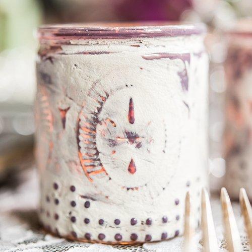 Vintage Inspired Depression Glass Votive Holders Victorian Purple (Glass Purple Depression)
