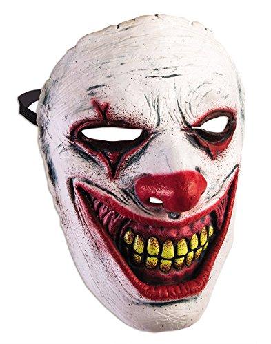 ace Mask Crazy Killer Halloween Adult Costume Accessory (Evil Halloween Mask)