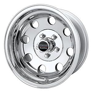 "American Racing Custom Wheels AR172 Baja Polished Wheel (17x8""/6x139.7mm, 0mm offset)"