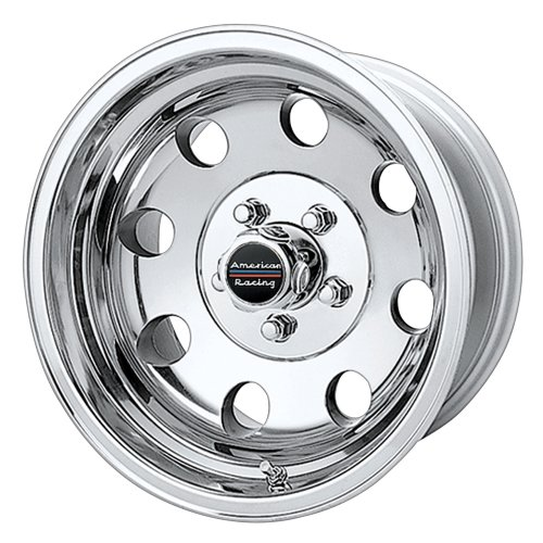 American Racing Custom Wheels AR172 Baja Polished Wheel (16×8″/8×165.1mm, 0mm offset)